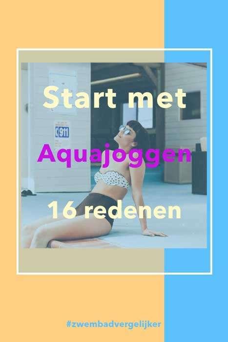 Start met Aquajoggen